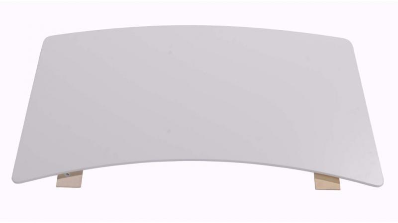 Samsö tilläggsskiva vit, 95x45