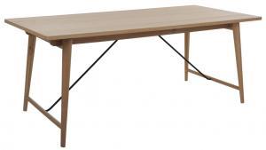 Orbit matbord i ekfaner, 190x90-