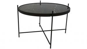 Grace sidobord, svart, ø62,5 h40