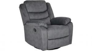 Winfield recliner tyg ridge grå manuell