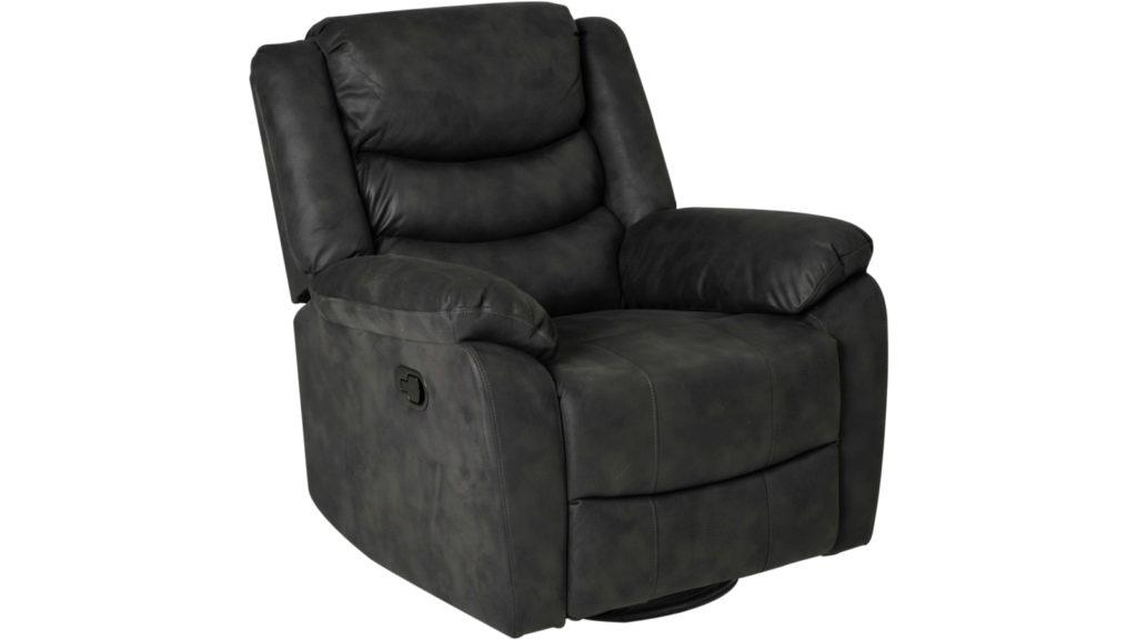Winfield recliner tyg lacey grå manuell