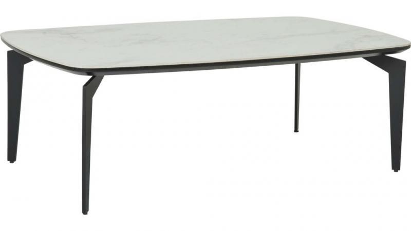 Bergamo soffbord i keramik , 115x70 h40