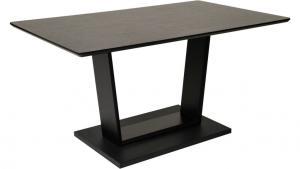 Kitty matbord 150x90 i svart ask