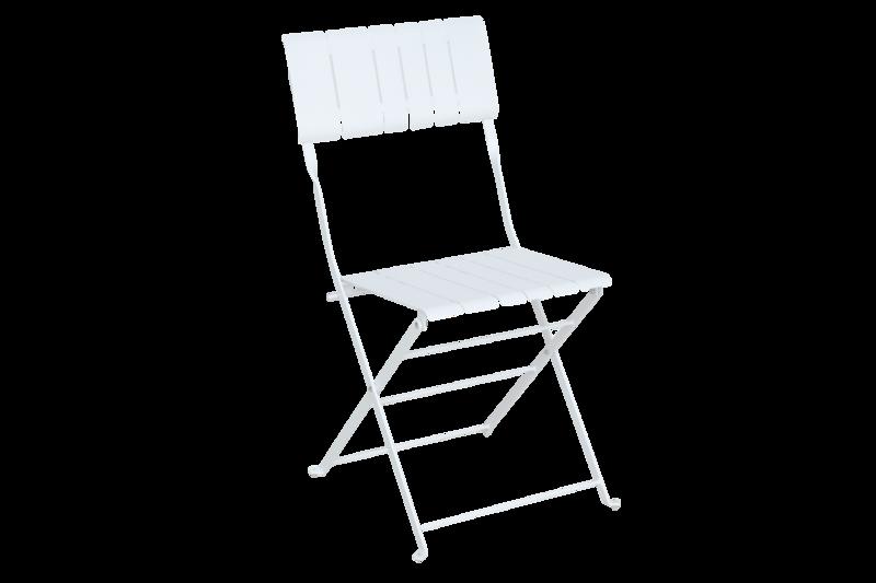 Bradano stol fällbar vit