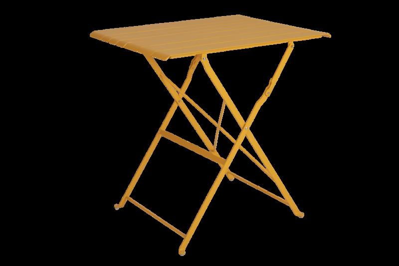 Bradano bord fällbart H71 gul