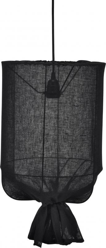 Round takskärm skira svart 30cm