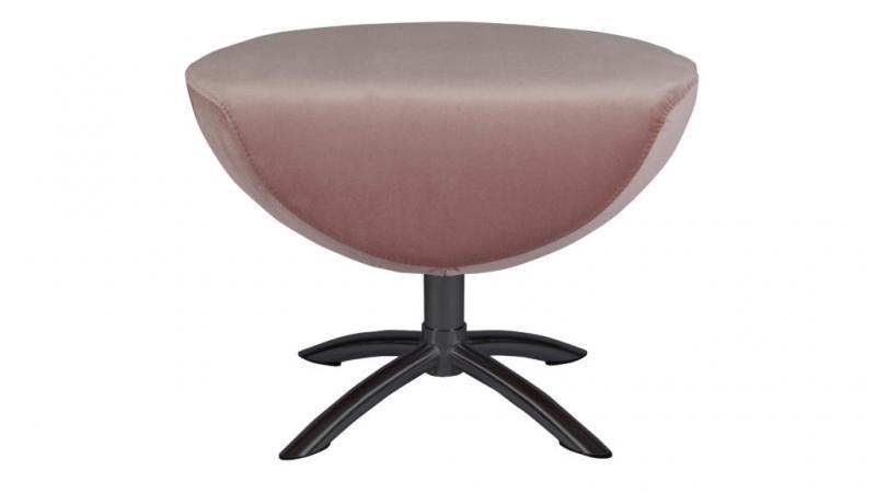 Baloo hjellegjerde pall, dusted pink/sv