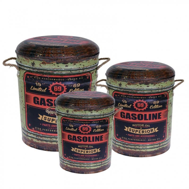 Förvaringslåda gasoline 3 set