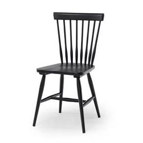 Birka stol svartlack
