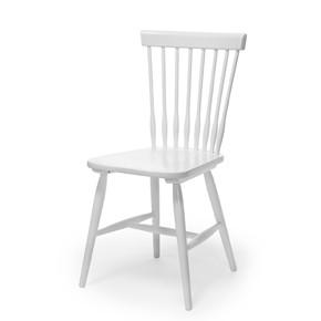 Birka stol vitlack