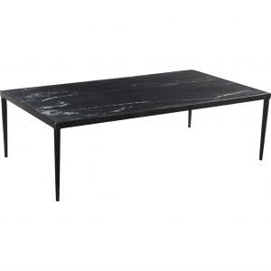Enzo soffbord med vacker råstenplatta