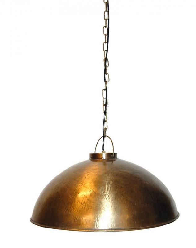 Thormann hängande lampa - antik mässing