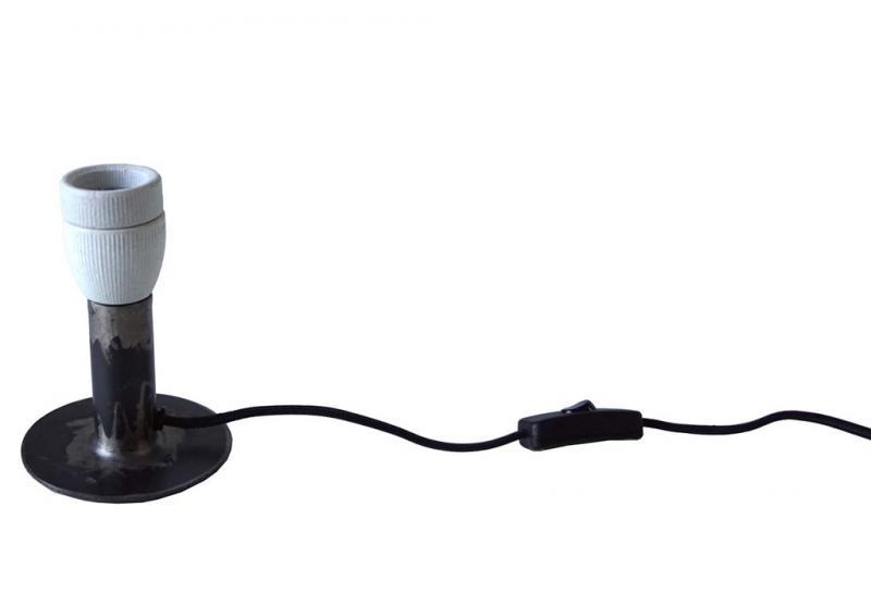 Leonardo bordslampa med sval finish - liten
