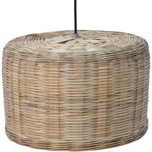 Natura taklampa i naturfärgad bambu - medium