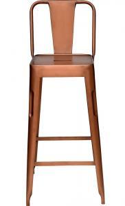 Köpenhamns barstol - antik koppar