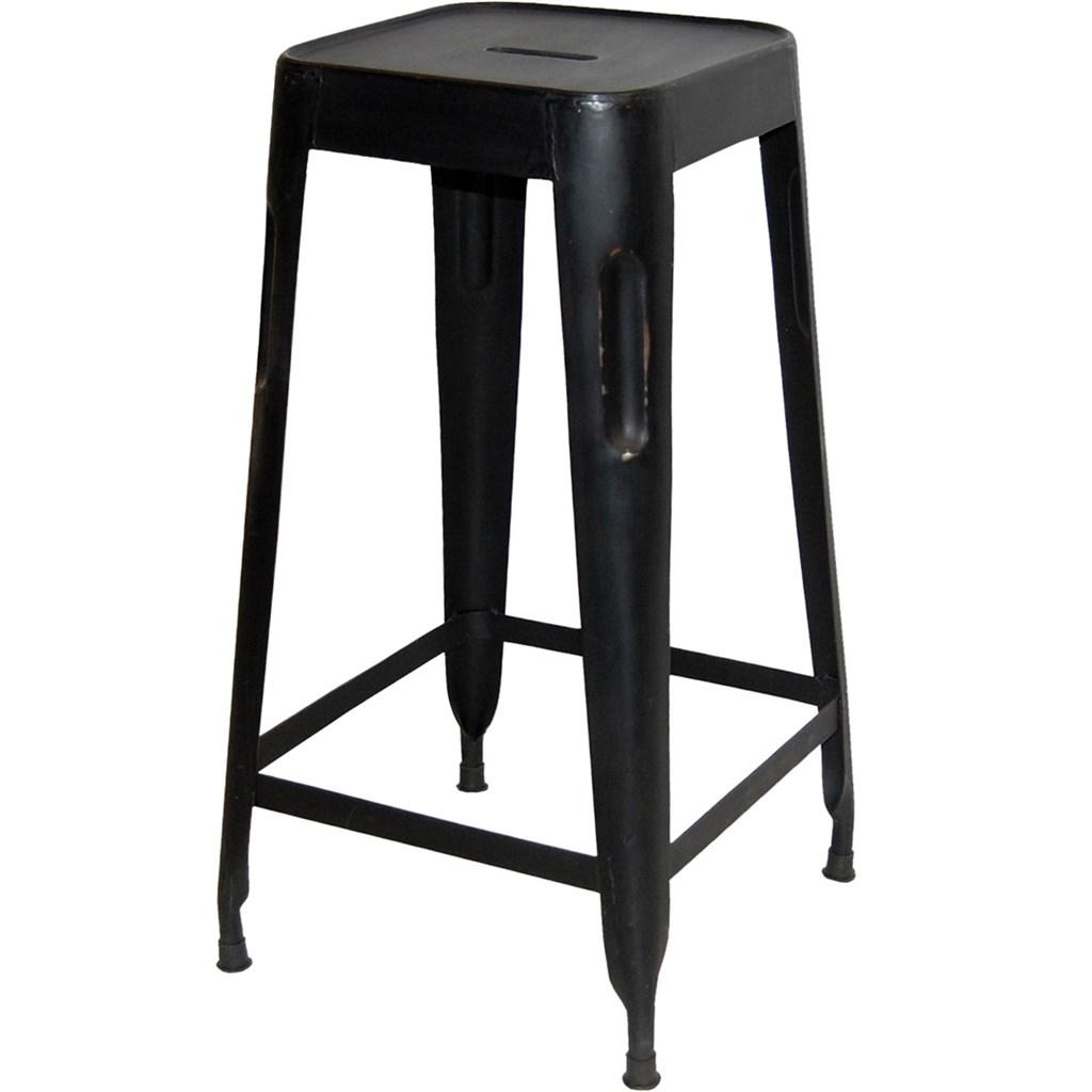 Copenhagen barstol - antik svart