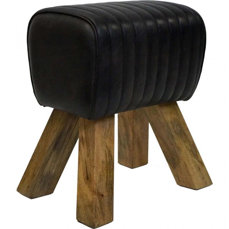 Bygel liten sockel / pall - svart