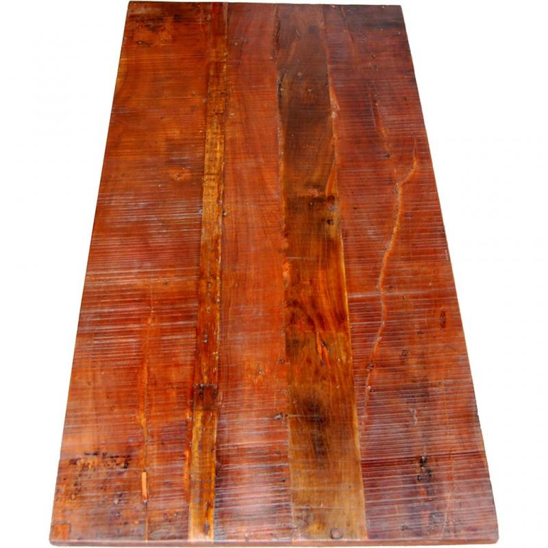 Amadeus bordsskiva av återvunnet trä - lång
