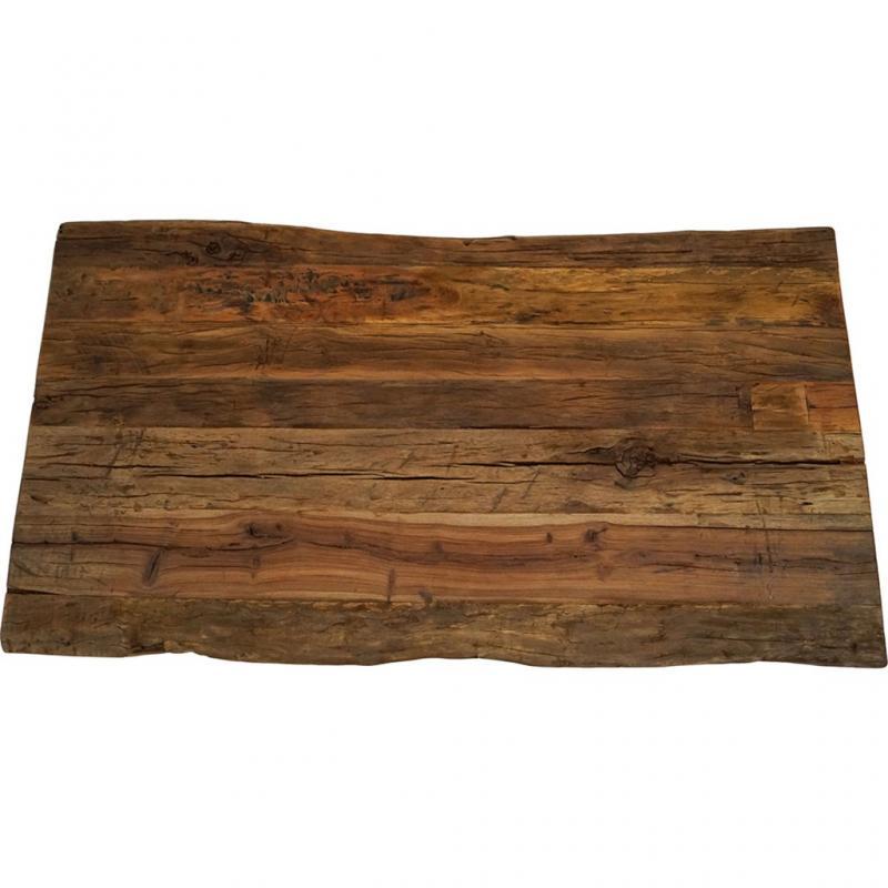 Bullock bordsskiva i rustikt trä - lång