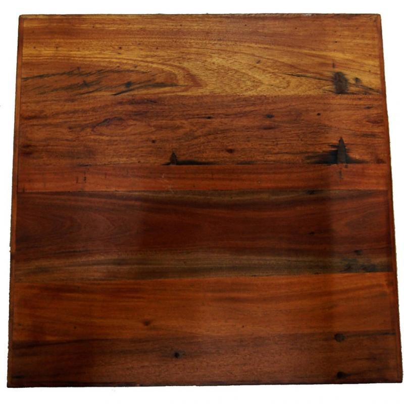 Amadeus bordsskiva av återvunnet trä 60 x 60 cm