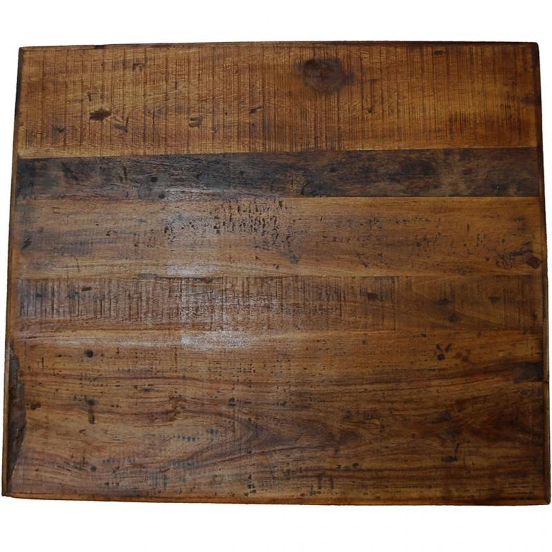 Amadeus bordsskiva av återvunnet trä 60 x 70 cm