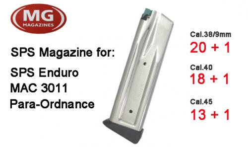 High Cap 2011 Enduro/Para Ordnance Magazine (Double Stack)
