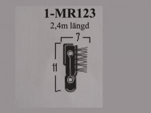 SKRAPLIST MR123 stel 2400 mm