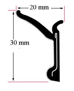 SKRAPLIST MR260X  rullbar