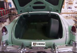 Bagage 1953 Cab helmatta Cadillac