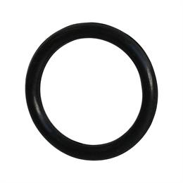 Gummiring Knapen svart 10-Pack