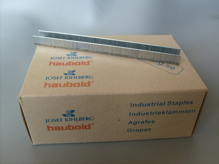 Klammer Rostfria 10 000-pack 8 mm