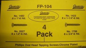 Skruv sortiment FP-104