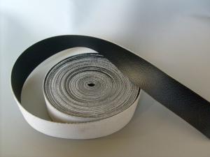 KEDERBAND i Vinyl Svart 3m