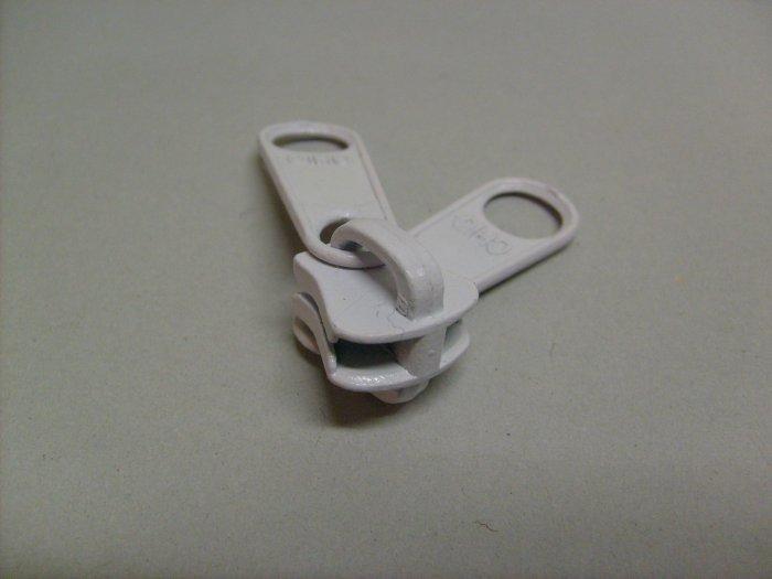 Löpare chique 10 mm vit