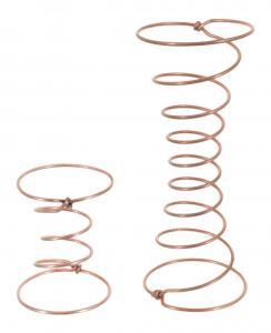 Spiralresår koppar 12 cm Midja