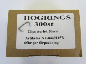 Hogrings 20 mm (300-Pack)