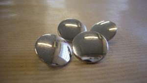 Knapp Klädsel Silver 5 st/Pack