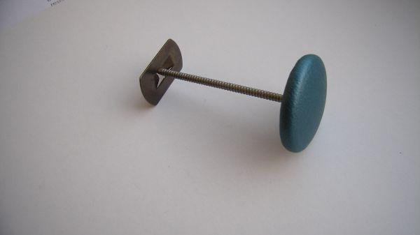 KNAPP 24 mm med spärrspik & låsbleck Svart