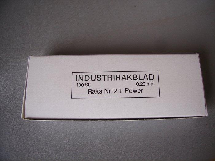 Rakblad 2plusS 100 st extra skärpa