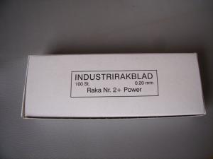 Rakblad INDUSTRI 100-PACK EXTRA VASSA