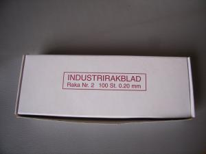 Rakblad INDUSTRI  100-PACK
