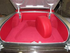 Bagage 1956 Cab helmatta Cadillac