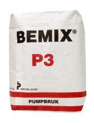PUMPBRUK BEMIX P3 K60 0-4MM 25KG