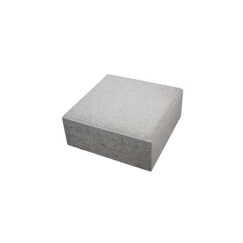 Siena Blocksten Ljusgrå, 350x350x150mm Halvsten, Starka 3271012