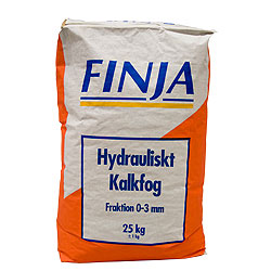 KALKFOG HYDRUALISK 0-3MM 40X25KG