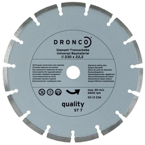 DIAMANTKLINGA DRONCO 180X2.0X22MM