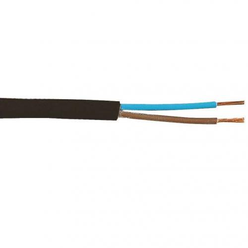 Kabel Skx 2x0.75 Svart 99006248