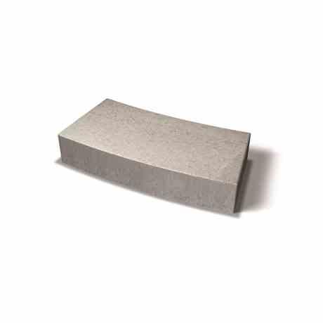 Block Radie Grå 150mm Benders