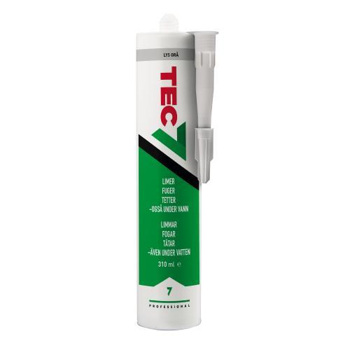 Fogmassa, Lim TEC7 MS Svart 310ML