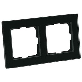 Elko Plus Option Ram 2Fack Glas Svart